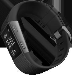 Fitbit Surge in black