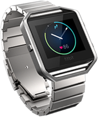 Fitbit Blaze with Metal Band
